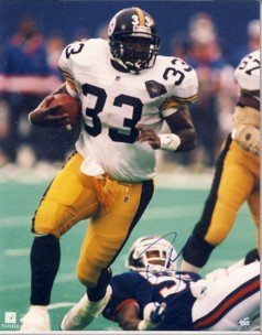 """Byron """"Bam"""" Morris - Signature Rookies - Limited Edition -  Steelers - Autographed - Photograph"""