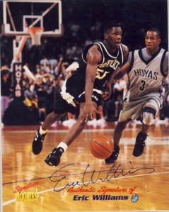 Eric Williams - Signature Rookies - Autographed - Provieice #55 - Photograph
