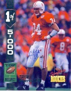 Trev Alberts - Signature Rookies - Limited Edition - Newbraska #34 - Autographed - Photograph