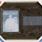 "Joe Montana - The Platinum Collection - 6"" X 8"" Black Marble Plaque"