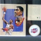 1996 - Hakeem Olajuwon - KRSI - Original Art - Limited Edition - Individually Numbered Print