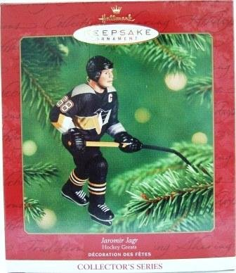 2001 - Jaromir Jagr - Hallmark - Hockey Greats - Keepsake - Ornament - 5th in Series