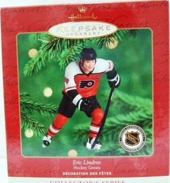 2000 Eric Lindros Hallmark Hockey Greats Keepsake Ornament 4th in Series