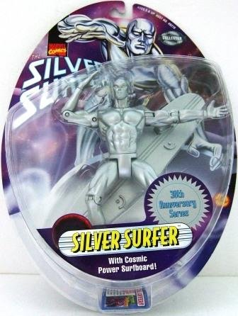 1998 - Silver Surfer - Toy Biz - Marvel Comics - Marvel Collector Edition - 30th Anniversary Series