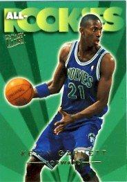 1995-96 - Kevin Garnett - NBA Basketball - SkyBox - Fleer Ultra - All Rookies Card - #3 of 10