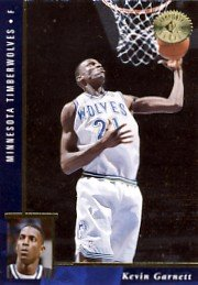 1995/96 - Kevin Garnett - Upper Deck - NBA Basketball - Championship SP Series - Rookie Card #62