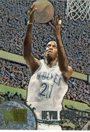 1995-96 - Kevin Garnett - NBA Basketball - Fleer - Metal - Rookie Card #167