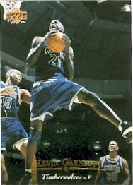 1995/96 - Kevin Garnett - NBA Basketball - Upper Deck - Rookie Card #273