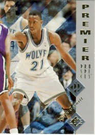 1995/96 - Kevin Garnett - Upper Deck - SP - NBA Basketball - Premier Prospects - Rookie Card #159