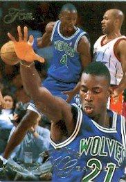 1995-96 - Kevin Garnett - NBA Basketball - Flair - Fleer/SkyBox - Rookie Card - #206