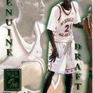 1995-96 - Signature Rookies - Genuine Draft - NBA Basketball - Rookie 5 Card Set