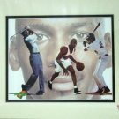 1996 - Michael Jordan -  3 Sports - Cartoon Art - Space Jam - Warner Bros. - Limited Edition Print