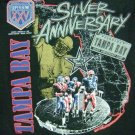 1991 - Super Bowl XXV Champions - Silver Anniversary - Giants vs. Buffalo - Vintage T-Shirt