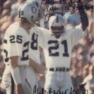Cliff Branch - K-Mart - L A Raiders - Autographed - Photograph