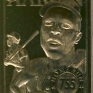 1996 - Hank Aaron - Bleachers - Baseballs Greatest Champions - 23 Karat Gold Card