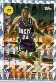 1996/97 - Ray Allen - NBA Basketball - Topps - Draft Pick - Rookie Card #DP5