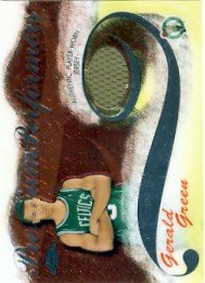 2005/06 - Gerald Green - NBA Basketball - Topps - Chrome - Player Worn Jersey - #147/400