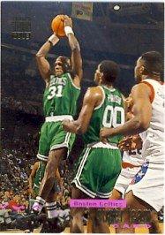 1992/93 - NBA Basketball - Boston Celtics - Topps - Stadium Club - Super Team - Card #2 of 27