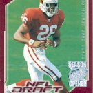 2000 - Thomas Jones - Topps - Season Opener - NFL Football Draft Pick - #203