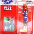 1996 - Joe Smith - Action Figures - Starting Lineups - Basketball - Warriors - Rookie Slu