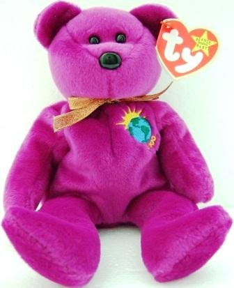Ty -The Original - Beanie Baby - Millennium - Bear - Plush Toys