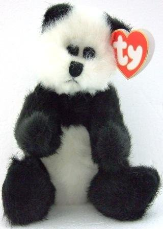 Ty - Beanie Baby - The Attic Treasure Collection - Checkers - Bear - Plush Toys