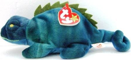 Ty - The Original - Beanie Baby - Iggy - Iguana - New Plush Toys