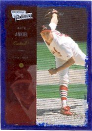 2000 - Rick Ankiel - Upper Deck - Ultimate Victory - Card #55
