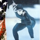 1996 - Bonnie Blair - Upper Deck - Reign of Gold - USA Olympicard - Card # RN2