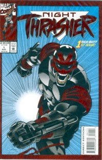 1993 - Marvel Comics - Night Thrasher - 1st Spectacular Issue - Comic Book