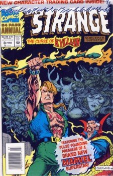 1993 - Dr. Strange - Marvel - The Curse of Kyllian  - 64 Page Annual - Comic Book