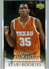 2007/08 - Kevin Durant - NBA Basketball - Upper Deck - First Edition - Rookie Card #202