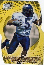 2001 - LaDainian Tomlinson - Press Pass - Rookie Vision - Rookie Card  #RV2/12
