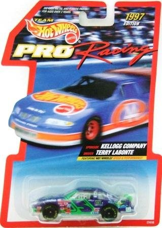 1997 Edition - Terry Labonte - Team Hot Wheels - Pro Racing - NASCAR - Diecast Car