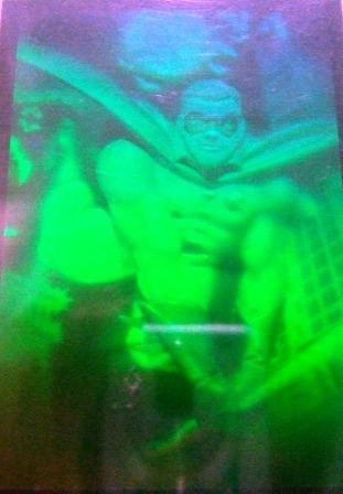 1995 - Fleer Entertainment - DC Comics - Batman Forever - Hologram - Robin