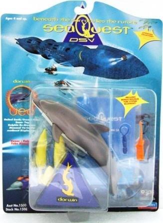 1994 - Playmates - MCA/Universal  - Sea Quest DSV - Darwin - Toy Action Figures