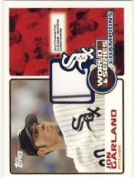 2006 - Jon Garland - Topps - 2005 World Series Champion - Card #WSR-JG