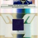 2006 - Demetrius Williams - Leaf - Certified - Materials - Card # 221