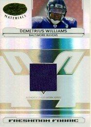 2006 - Demetrius Williams - Leaf - Certified - Materials - Card # 221