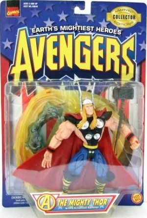 1997 - Toy Biz - Marvel Comics - Avengers - The Mighty Thor - Toy Action Figure