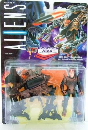 1992 - Kenner - Aliens - Series 1 - ATAX  (Space Marine) - Toy Action Figures