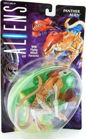 1993 - Kenner - Aliens - Series 2 - Panther Alien - Toy Action Figures