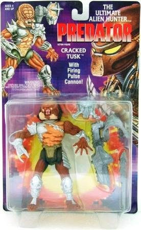 1993 - Kenner - Predator - Series 1 - Cracked Tusk - Toy Action Figures