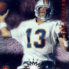 1997 - Dan Marino - Pinnacle - Action Packed - Crash Course - Card # 1 of 18