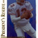 1996 - Dan Marino - Collector's Edge - President's Reserve - Promo Card # 105