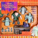 Disney's - The Hunchback of Notre Dame - Quasimodo & Gargoyles - Toy Action Figure - Gift Set