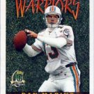 1996 - Dan Marino - Topps - Turf Warriors - Card # TW18
