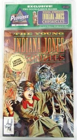 1992 - Dark Horse Comics - The Young Indiana Jones Chronicles - Limited Edition Collector's Set