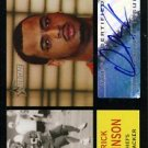 2005 - Derrick Johnson - Topps - Heritage - Autographed Rookie Card # ROA-DJ