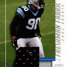2002 - Julius Peppers - Donruss - Leaf - Certified - Freshman Fabric - Jersey - #120